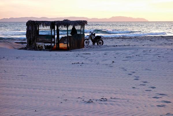 Near Bay of LA, Baja Mexico