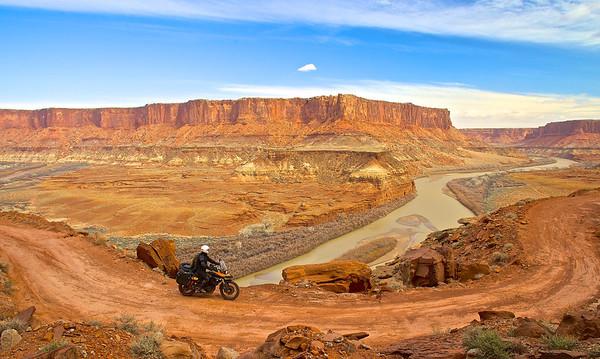 White Rim Trail Canyonlands NP, Utah